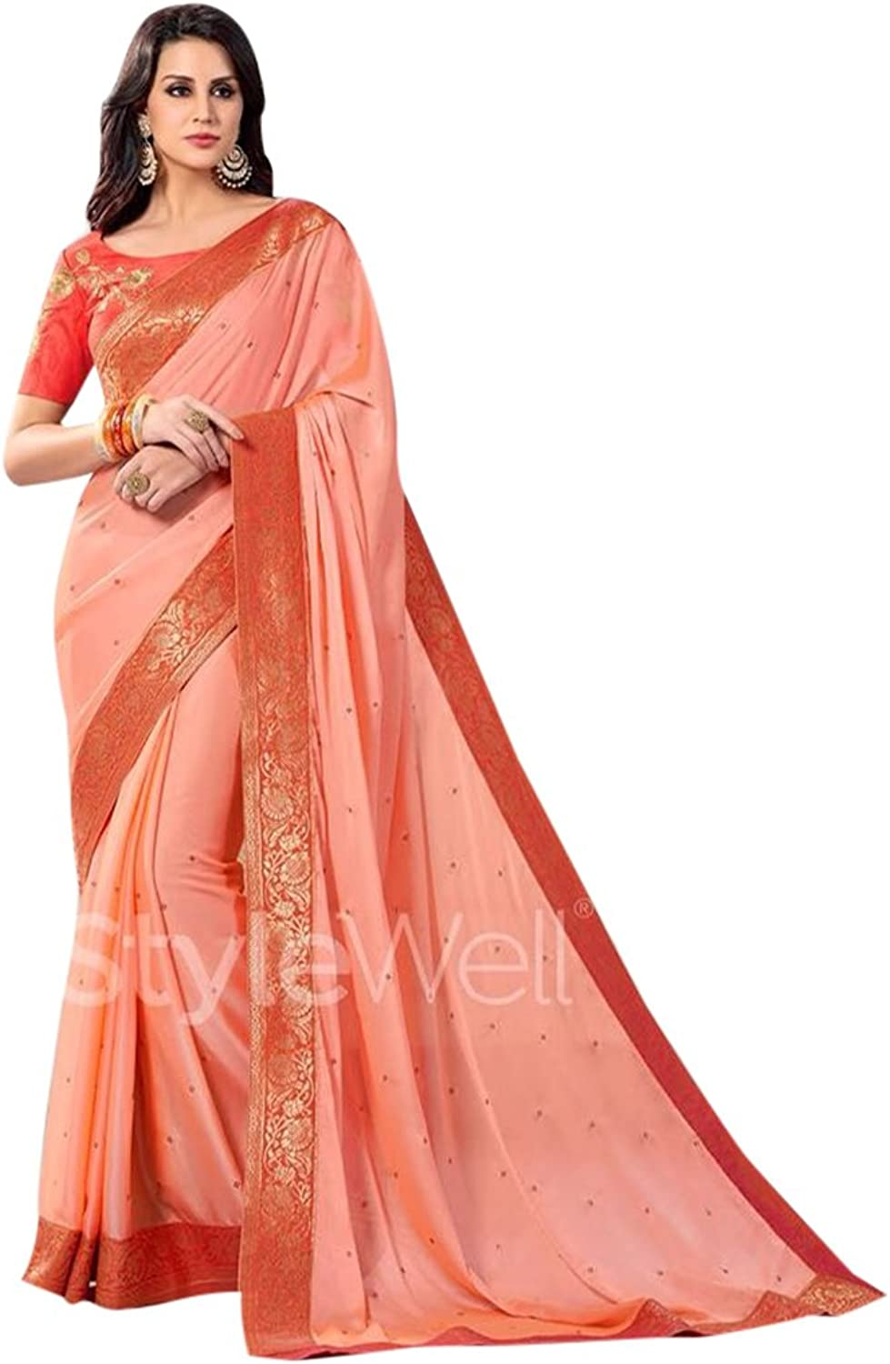 Bollywood Bridal Saree Sari for Women Collection Blouse Wedding Party Wear Ceremony 821 10