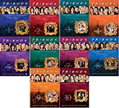 Friends: The Complete Series Collection - Seasons 1,2,3,4,5,6,7,8,9 & 10 DVD
