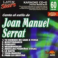 Karaoke: Joan Manuel Serrat 1 - Latin Stars Karaok by Joan Serrat (2013-05-03)