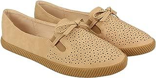 Flat n Heels Womens Khaki Loafer FnH 1168-4-KH