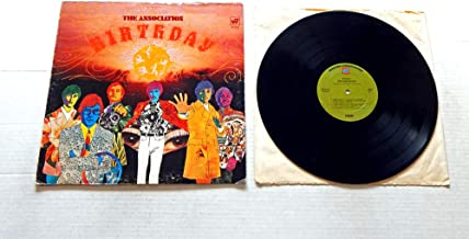 The Association Birthday - Warner Brothers Records 1968 - Used Vinyl LP Record - 1968 Pressing WS 1733 - Like Always - Everything That Touches You - The Time It Is Today - Time For Livin'