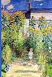 InspirationzStore Notebooks: The Artist's Garden at Vetheuil Monet art cover Discreet Internet Password Book Organizer A5 Notebook Logbook, website login details keeper Online Accounts manager