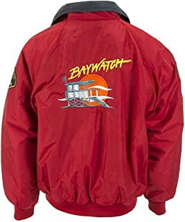KAAZEE Bay-Watch Lifeguard Red Cosplay Jacket for Men