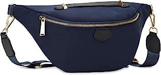 Wind Took Damen Brusttasche Crossbody Bag Mode-Hüfttaschen Große Umhängetasche Sling Tasche Schultertasche für Reisen Fest...