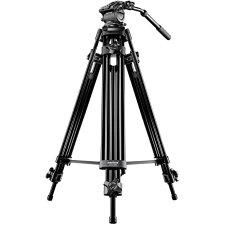 Mantona Dolomit 1200 Videostativ 158 Cm Für Dslr Und Kamera