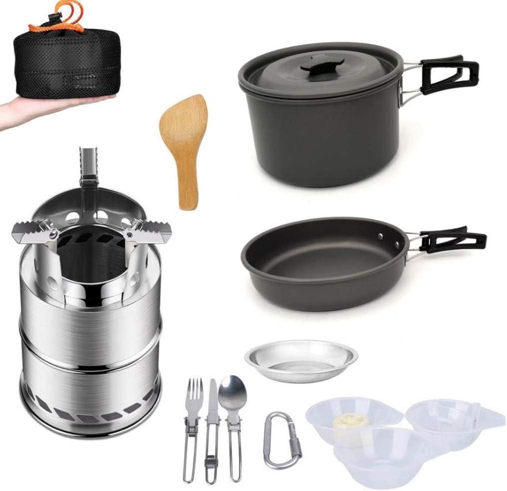 Utensilios Cocina Camping Kit Juego de utensilios de acampada ...