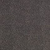 Fabulous Fabrics Chiffon grau, Blume, 140cm breit –