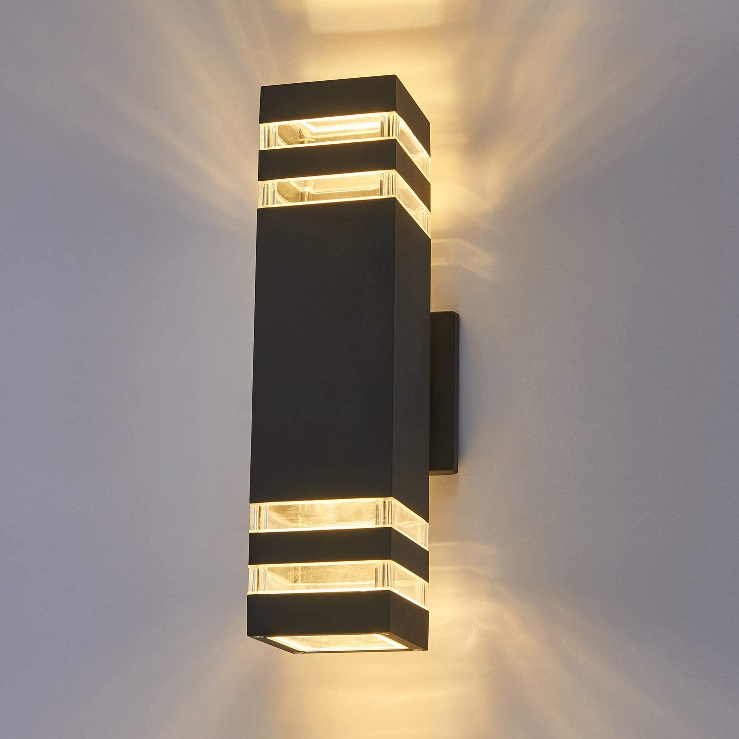 LED Ranking TOP20 Outdoor Waterproof Wall Light fixtures Attention brand Warm 8W White 3000K