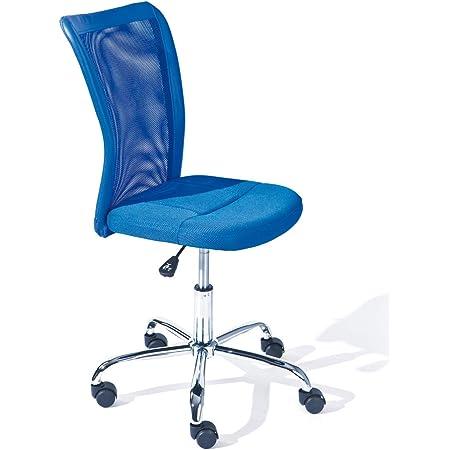 Sedia da scrivania Sedia da Ufficio Girevole Sedia da Ufficio Altezza Regolabile SixBros Blu H-298F//2065