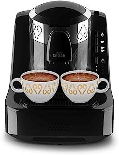Arzum Okka - Turkish Coffee Machine - Black/Chrome - OK002