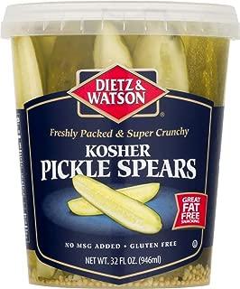 Dietz & Watson Kosher Pickle Spears, 32 oz