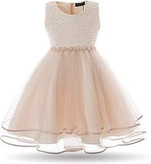 CIELARKO Vestido Elegante de Gala Boda Fiesta para Niñas