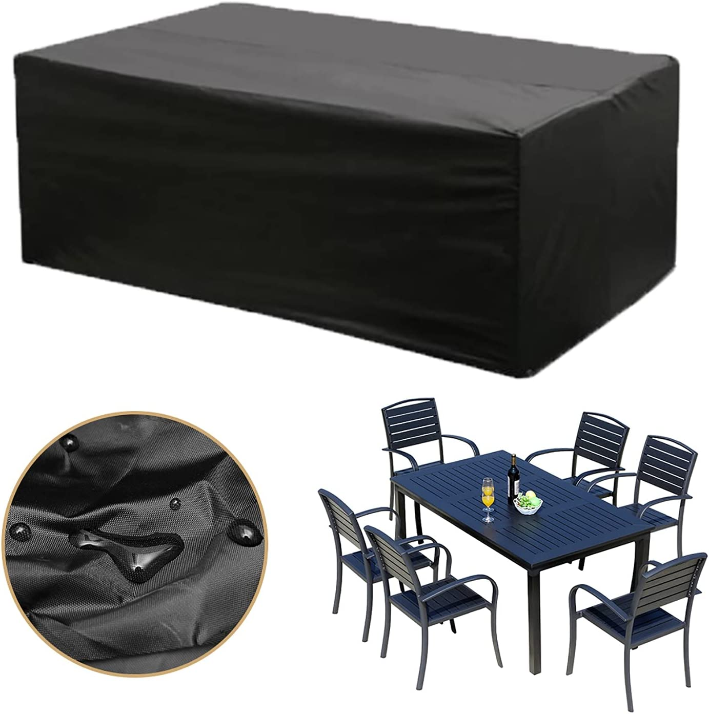 AWSAD Outdoor Patio Cover Waterproof and Tear-Resistant He Bombing new work 420D Sales for sale