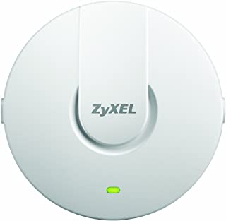 Zyxel WiFi 11ac 2x2 Access Point, Easy Setup and Management with Free NebulaFlex Cloud Management, PoE, Dual Band, 802.11ac, (NWA1123-ACv2)