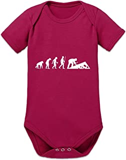 Shirtcity Evolution of Roofer Baby Strampler by