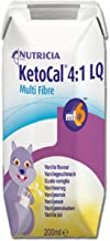 KetoCal 4:1 Oral Supplement/Tube Feeding Vanilla 237 mL Tetra Paks - Case of 27