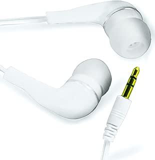 N4U Online White 3.5Mm Earbud Earphones For Blackberry 9900 Bold Touch