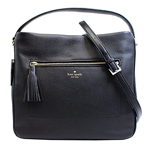 "double handles and an Additional /adjustable shoulder strap with 21""drop. Top zip closure. Interior features zip pocket and slip pockets 12.5 X 11.5 X 5 (inches)."