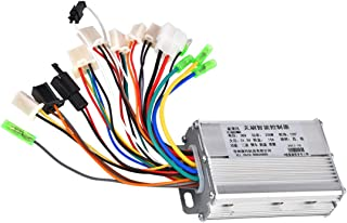 RUHUO DC 36V 250W Brushless Motor Controller 6 Mosfet w/Reverse for Electric ATV 4 Wheeler Tricycle Wheelchair