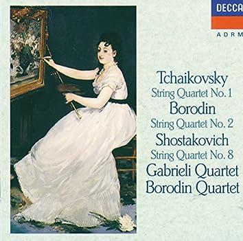 Tchaikovsky: String Quartet No.1 / Borodin: String Quartet No.2 / Shostakovich: String Quartet No.8