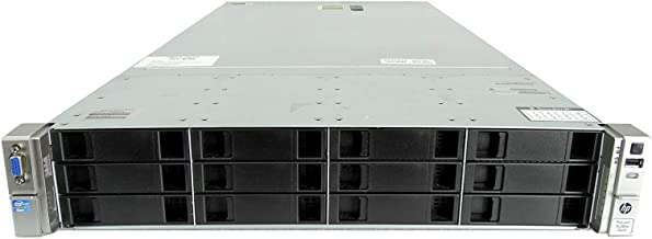 ProLiant DL380e G8 12-Bay LFF 2U Server, 2X Intel Xeon E5-2450L 1.8GHz 8C, 48GB DDR3, 12x 960GB SSDs, PERC H220, 2X 460W PSUs, No Rails (Certified Refurbished)