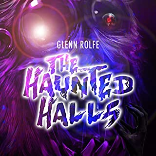 The Haunted Halls audiobook cover art