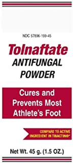 Antifungal Foot Powder. Case of 24 Individual Packets 1.5 oz. with 1% Strength Powder. Super Absorbent Tolnaftate Powder for Adults. Latex Free.