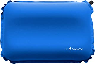 MalloMe Inflatable Camping Travel Pillow - Backpacking Camp Pillows for Sleeping Bag Pad - Small Mini Air Size Ultralight ...