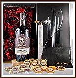 Geschenk Teeling irischer Whiskey mit Flaschenportionierer + 10 Edel Schokoladen von DreiMeister &...