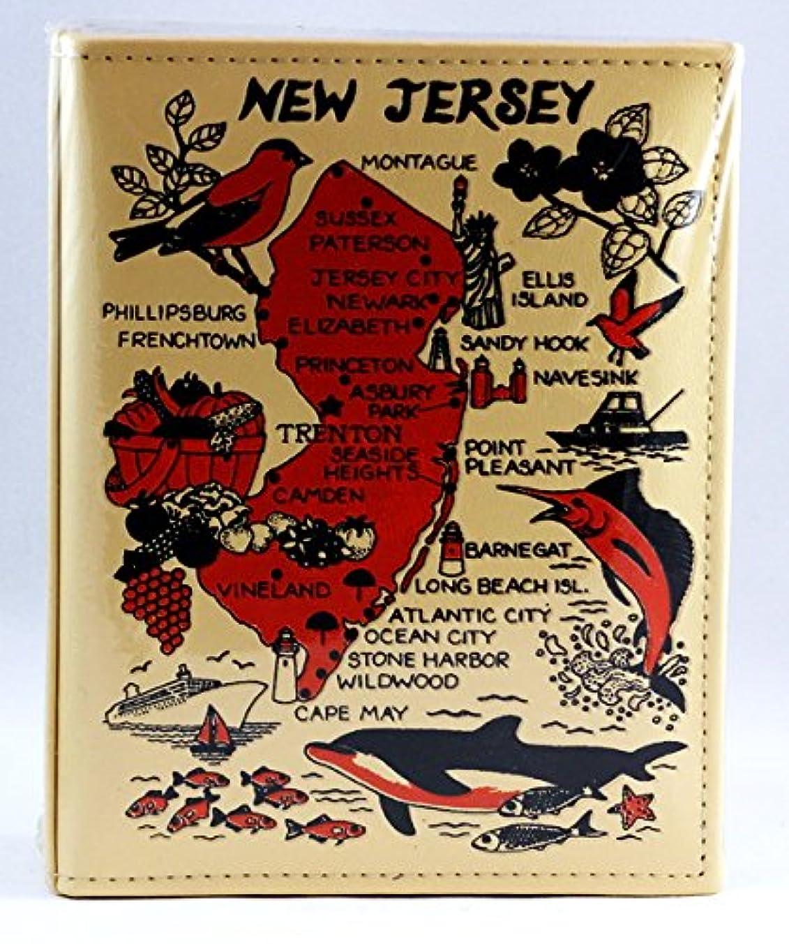 New Jersey Embossed Photo Album 100 Photos / 4x6