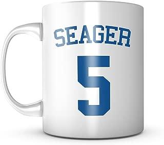 Corey Seager Mug - Jersey Number Baseball Coffee Cup
