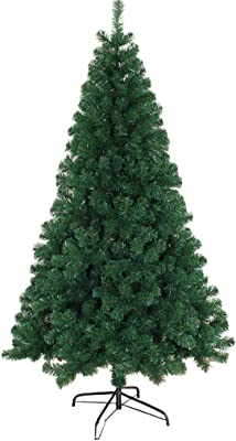 ff35d759d641 GY Christmas Tree - Easy to Install PVC Leaves Artificial Christmas Tree  Solid Steel Tube Bracket
