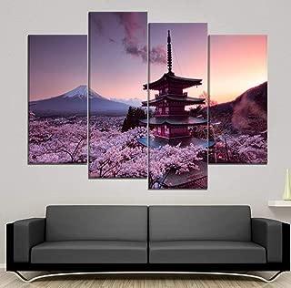 HUA JIE Quadro 5 Pannelli Quadri Tela Canvas Stampe HD Decorazione Domestica Tela Pittura Tokyo Ghoul Immagine Modulare Animazione Creativa Poster di Opere dArte
