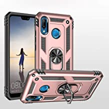 Sponsored Ad - Phone Case for Huawei p20 Lite Case with Ring Holder Stand Women Men Boys Girls Slim Thin Friendly Heavy Du...