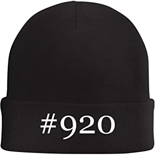 Tracy Gifts #920 - Hashtag Beanie Skull Cap with Fleece Liner