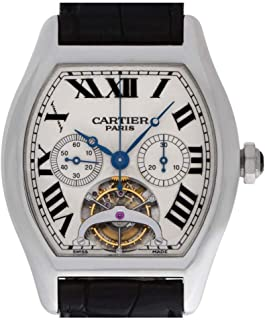 Cartier Tortue Mechanical-Hand-Wind Male Watch W1545751 (Certified Pre-Owned)