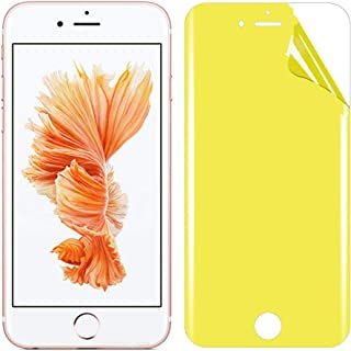 LIJINGFANG For iPhone 6s Plus Soft TPU Full Coverage Front Screen Protector