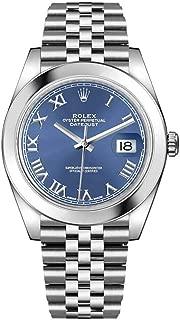 Datejust 41 Blue Dial Jubilee Bracelet Men's Watch 126300