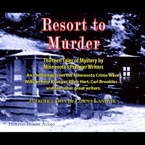 Resort to Murder audiobook cover art