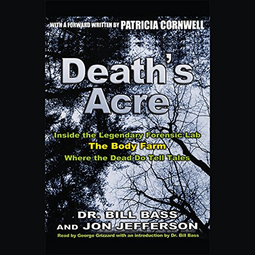 Death's Acre audiobook cover art