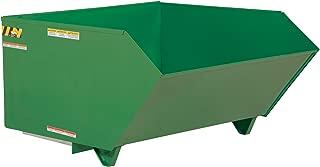 Vestil H-50-HD-GRN-T Self Dumping Hopper Hd, 0.5 cu. yd, 6000 lb. Capacity, 51.25