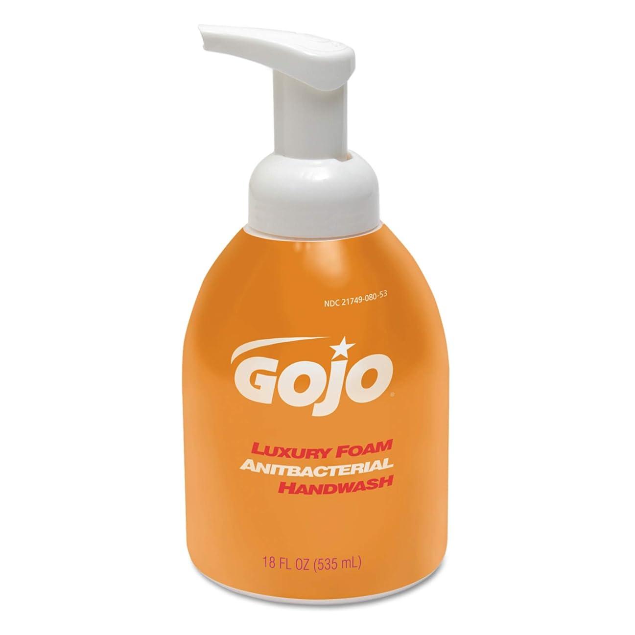 体現する時間革命的Luxury Foam Antibacterial Handwash, Orange Blossom, 18 oz Pump (並行輸入品)