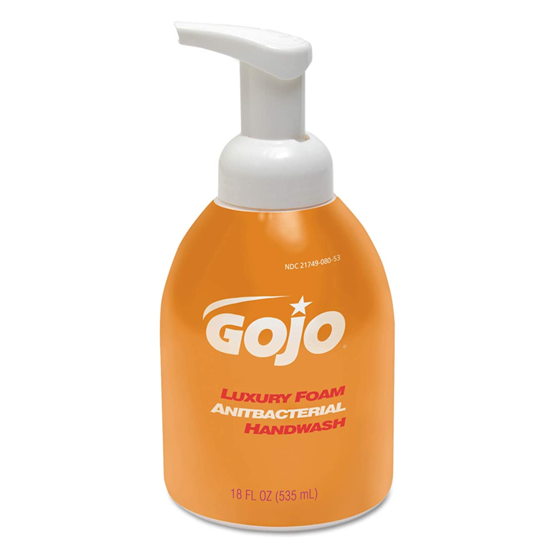 近傍トレイルびっくりしたLuxury Foam Antibacterial Handwash, Orange Blossom, 18 oz Pump (並行輸入品)