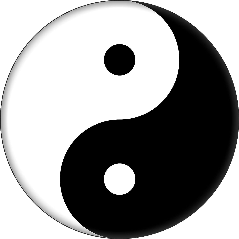 Yin Sale Yang - Max 73% OFF Black White Round 1.25
