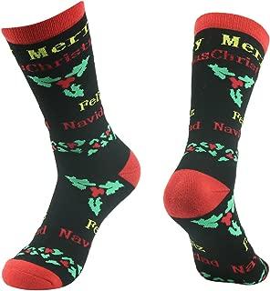 Novelty Crazy Crew Socks, Gmark Unisex Fitness Cartoon Cotton Soft Warm Winter Cozy Socks