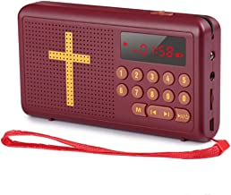 $52 » XCBW Wonder Talking Bible with USB Charging Cable and Earphone Jack - Built-in Speaker, Rechargeable Audio Player, Perfect for Adults, Children, Seniors