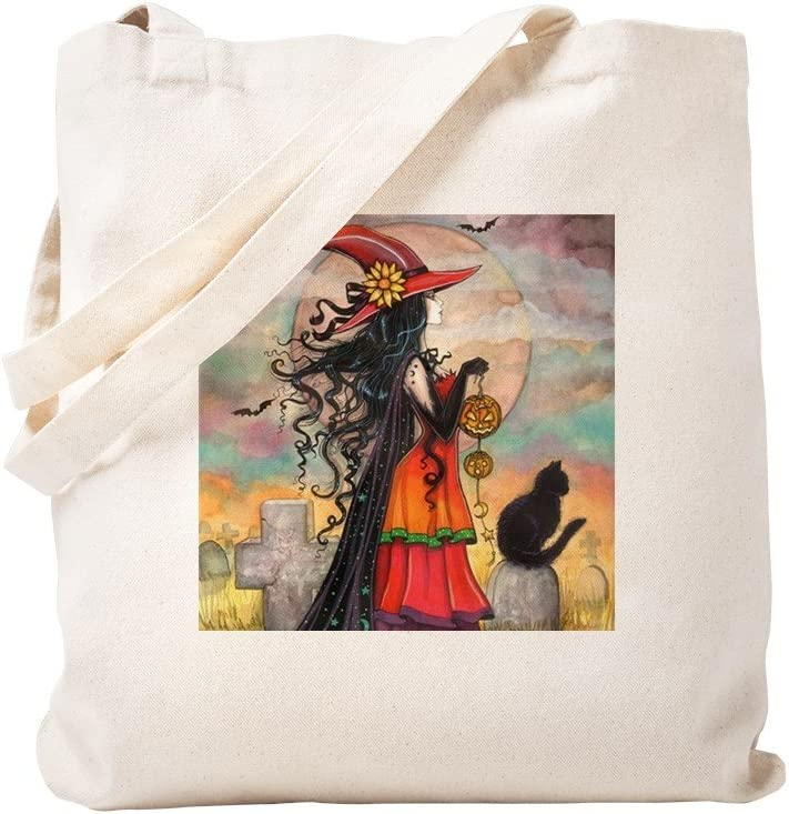 CafePress Witch Import Way Halloween Art Natural Bag Canvas Super sale period limited Tote