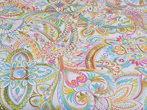 Tiendas Mi Casa - Funda nórdica Cashmere 100% algodón Incluye Funda cojín 50x70 cm. (Cama 135 cm, 220x220 cm)