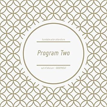 Program Two