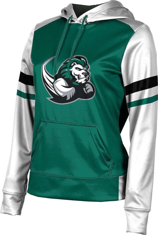 Slippery Rock University Girls' Pullover Hoodie, School Spirit Sweatshirt (Old School)